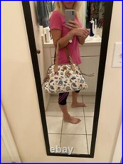 Disney Dooney and Bourke Theme Park Big Leather Bag Excellent Condition