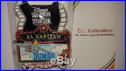 Disney Dumbo DSF LE 150 El Capitan Theatre Marquee Dumbo and Timothy Mouse Pin