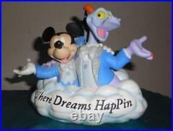 Disney Epcot Figment Mickey where dreams hapin pin set LTD ED 300