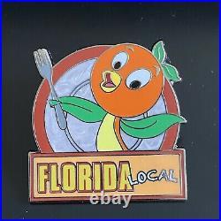 Disney Epcot Food & Wine Festival ORANGE BIRD Florida Local Country Marquees Pin