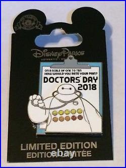 Disney Exclusive 2018 Doctors Day Big Hero 6 Baymax 3-D Pin LE 2000 NEW CUTE