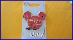 Disney Exclusive Nurses Day 2019 Mickey Head Ears Icon Pin LE of 2000