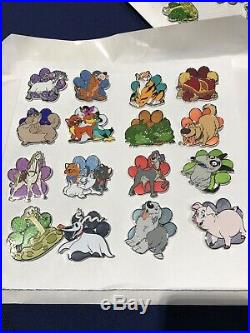 Disney Fairy Tails Mystery Complete 16 Pin Set
