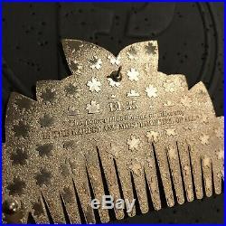 Disney Fantasy Pin Mulan Comb Jumbo EL / LE 35 Rare HTF Pearlescent
