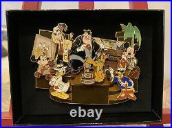 Disney Featured Artist 2007 Adventurer's Club Kungaloosh Pete Jumbo Pin LE 750