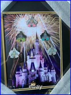 Disney GenEARation D Cinderella Castle Through the Years Framed LE 150 Pin Set