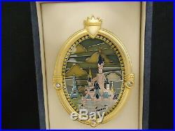 Disney Happiest Celebration On Earth Castle Window Disneyland Paris Jumbo Pin Le