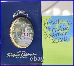 Disney Happiest Celebration On Earth Castle Window Jumbo Pin LE Disneyland Paris