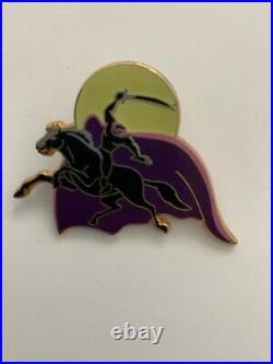Disney Happy Haunts Sleepy Hollow Headless Horseman Framed Set LE 50 Pin READ