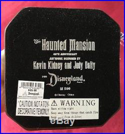 Disney Haunted Mansion 40th Anniversary Event Crypt Candelabra LE500 Kidney HTF