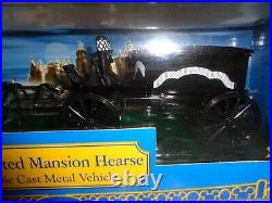 Disney Haunted Mansion Hearse Die Cast Theme Park Collection Nib Halloween