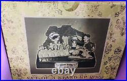 Disney Haunted Mansion O-Pin House Set of 3 Stand Up Pins Jumbo Pin LE 250