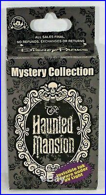 Disney Haunted Mansion Portraits Mystery Box Collection Complete 12 Pin Set NEW