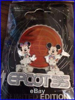 Disney Imagineering WDI LE Figment Rainbow Epcot 35th Anniversary D23 9 Pin Set