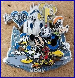 Disney Kingdom Hearts Keyblade Sci-Fi Academy LE 500 Pin HTF
