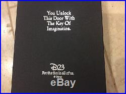 Disney Limited edition D23 Twilight Zone Tower of Terror Key Ultra Rare 1of 75
