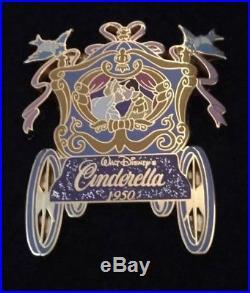 Disney M&P Cinderella Prince Charming WEDDING KISS Carriage Coach Pin LE1000