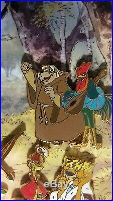 Disney Medieval Magic Robin Hood Boxed Pin Set LE 1000