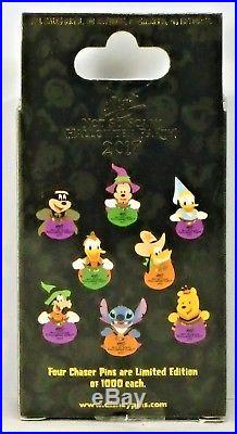 Disney Mickey Not So Scary Halloween Party 2017 Mystery Box 12 Pin SET CHASERS