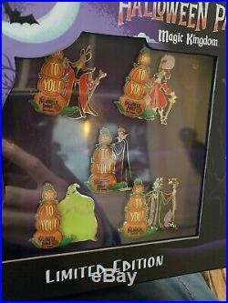 Disney Mickey's Not So Scary Halloween Party 2019 Set 5x Evil Queen LE Pin
