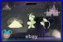Disney Minnie Mouse The Main Attraction 3 Pin Set Space Mountain January 2020