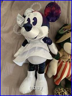 Disney Minnie mouse main attraction space mountain Dumbo Jungle plush January