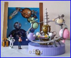 Disney Monorail Theme Park Astro Orbiter Interactive Playset Upgraded