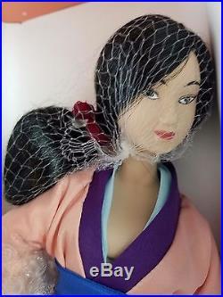 Disney Mulan Doll Bradley's Theme Park Exclusive Limited Edition