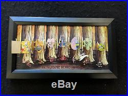 Disney Nightmare Before Christmas -Magical Moments 8 Pin Framed Set LE5000