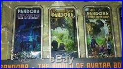 Disney Pandora 5 Poster Pin Box LE 250 Completer Chaser Pin Opening Day Avatar