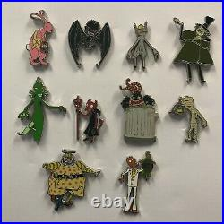 Disney Parks 2020 NBC Nightmare Before Christmas Complete 10 Mystery LR Pin Set