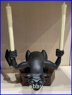 Disney Parks 2021 Haunted Mansion Light Up Candle Gargoyle 14 Figure Statue NIB