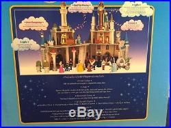 Disney Parks Cinderella Castle Playset NIB, Disney World Disneyland Theme Park