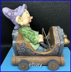 Disney Parks Dopey Snow White Seven Dwarfs Mine Train Jim Shore Resin Figure