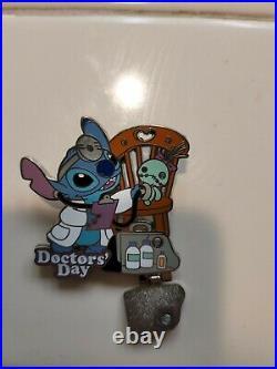 Disney Parks LE 1000 Pin Doctors' Day 2017 Lilo & STITCH Scrump Stethoscope