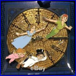 Disney Parks Peter Pan 65th Anniversary Jumbo Pin LE Limited 1000 NEW IN HAND
