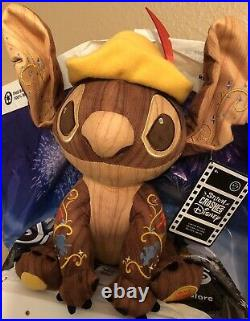 Disney Parks Stitch Crashes Pinocchio Plush Limited Release #5 May