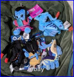 Disney Parks Wishables Plush Set of 5 Pandora World of Avatar New with Bag LR