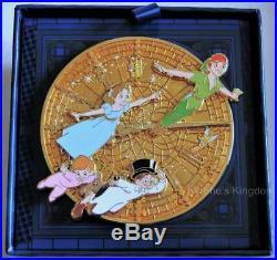 Disney Peter Pan 65th Anniversary Big Ben Wendy Tinker Bell Jumbo Signed Pin
