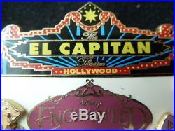 Disney Pin 58382 DSF El Capitan Marquee Enchanted Giselle Pip Soda Fountain RARE
