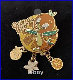 Disney Pin Cast Exclusive Orange Bird Dangle Wdw Rare 2016