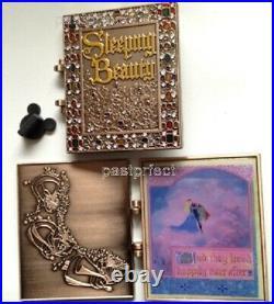 Disney Pin D23 Sleeping Beauty Storybook Jumbo Book Archive WDW 50 Years 2021
