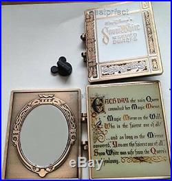 Disney Pin D23 Snow White 7 Dwarfs Storybook Jumbo Book Mirror 20Yr Trading 2020