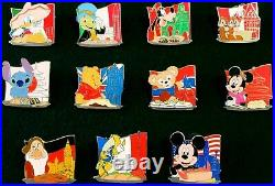 Disney Pin EPCOT International Food and Wine Festival 2019 Set of 11 Mystery New