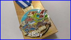 Disney Pin HKDL Sport Series 5 of 8 Zootopia Judy Hopps & Nick Wilde LE500