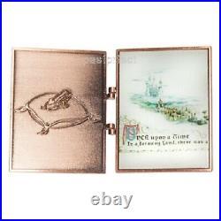 Disney Pin HTF D23 Cinderella Storybook Princess Mice Gus Jumbo Book 70th 2020