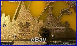 Disney Pin Happiest Celebration on Earth 2006 Super Jumbo Theme Park Castles LE