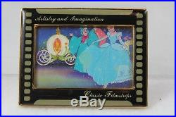 Disney Pin LE 50 Artistry and Imagination Classic Filmstrips Cinderella Carriage