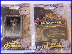 Disney Pin LE DSF DSSH Pirates Of The Carribean Dead Men Tell No Tales Set Of 7