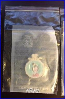 Disney Pin LIMITED EDITION 125 Mulan Medallion Pearl Rare Princess Pin